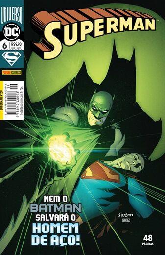 Superman: Nem o Batman Salvará o Homem de Aço - Edição 6