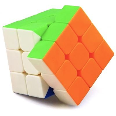 Cubo Mágico 3x3  Stickerless
