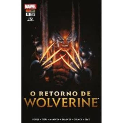 O Retorno de Wolverine - volume 6
