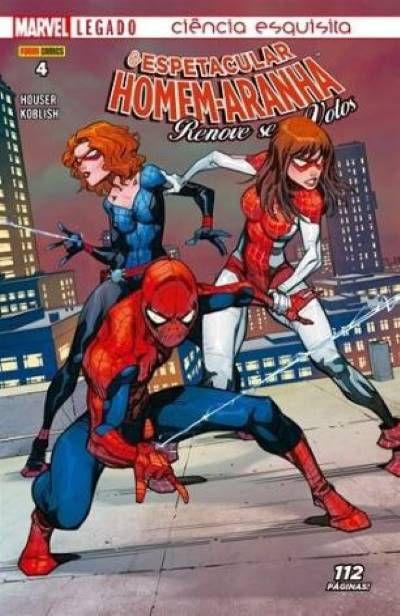 O Espetacular Homem-Aranha: Renove seus votos - Edição 4