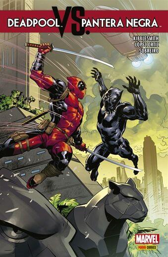 Deadpool vs. Pantera Negra