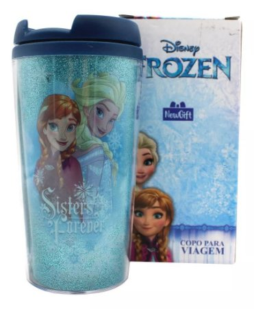 Copo de Viagem : Frozen