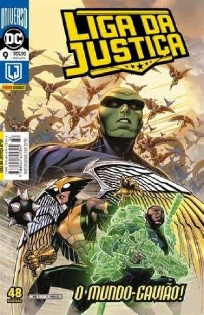 Liga da Justiça: O mundo Gavião - Volume 9