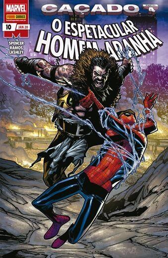 O Espetacular Homem-Aranha: Caçado - Edição 10