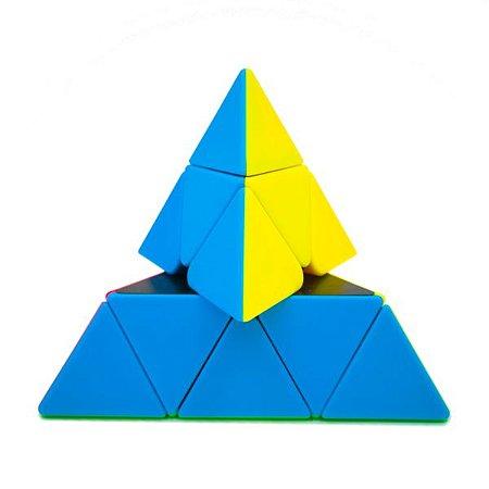 Cubo Mágico Piraminx Stickerless