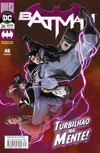 Batman Renascimento : Turbilhão na Mente - Volume 34