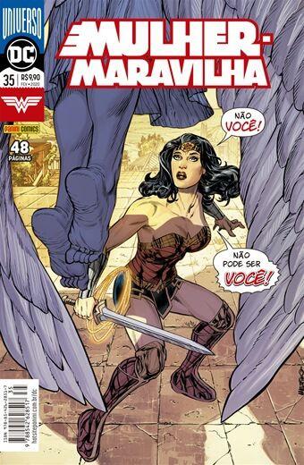 Mulher-Maravilha: Renascimento - edição 35