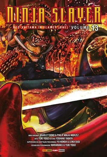 Ninja Slayer - Ediçao 13