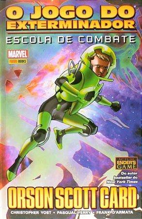 O jogo do exterminador: Escola de combate