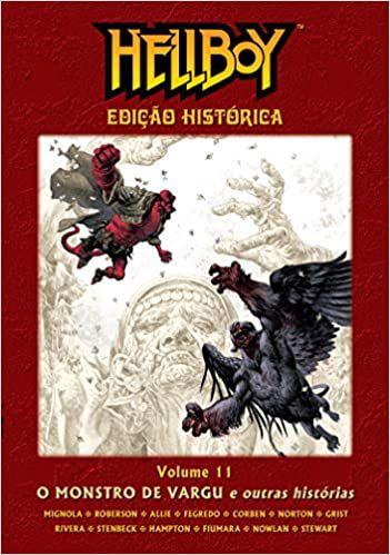 Hellboy Edição Histórica - Volume 11 - O Monstro De Vargu  - Capa Dura
