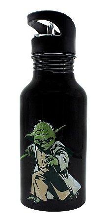 Garrafa Alumínio Mestre Yoda