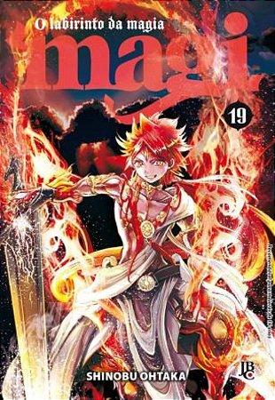 Magi - O labirinto da magia - Volume 19