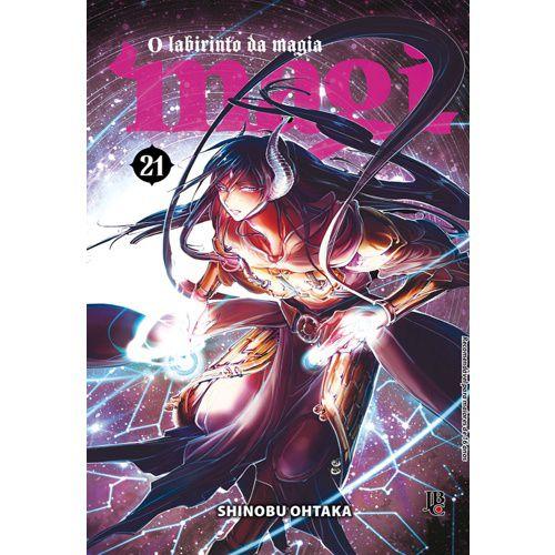 Magi: O labirinto da magia - Vol. 21