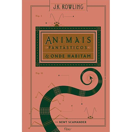 Livro - Animais fantásticos e onde habitam