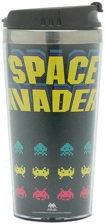 Copo Térmico de Plástico 500ml Space Invaders Urban