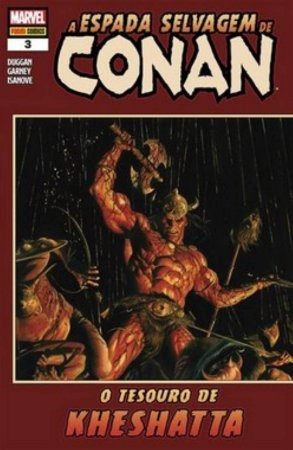 A Espada Selvagem de Conan - 3 - O tesouro de Kheshatta