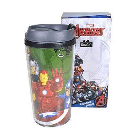 Copo Viagem Avengers