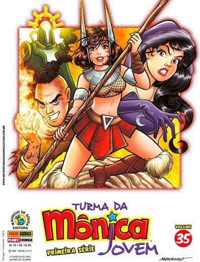 Turma da Mônica Jovem - Primeira Série - Volume 35