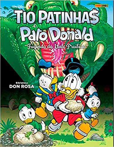 Tio Patinhas E Pato Donald: Fugindo Do Vale Proibido - Vol.8