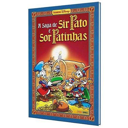 A Saga de Sir Pato e Sor Patinhas - Capa Dura