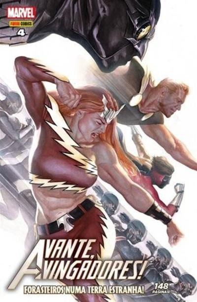 Avante Vingadores! - Edição 4 - Forasteiros Numa Terra Estranha!