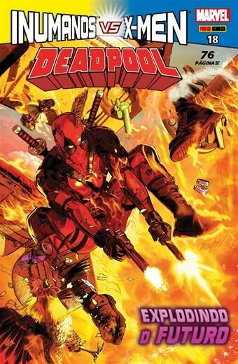 Deadpool - Edição 18 - Inumanos vs X-Men