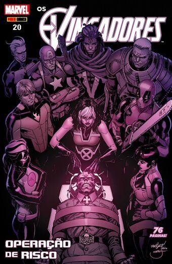 Os Vingadores - Edição 20 - Operação de risco
