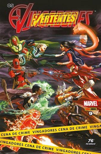 Os Vingadores - Edição 9