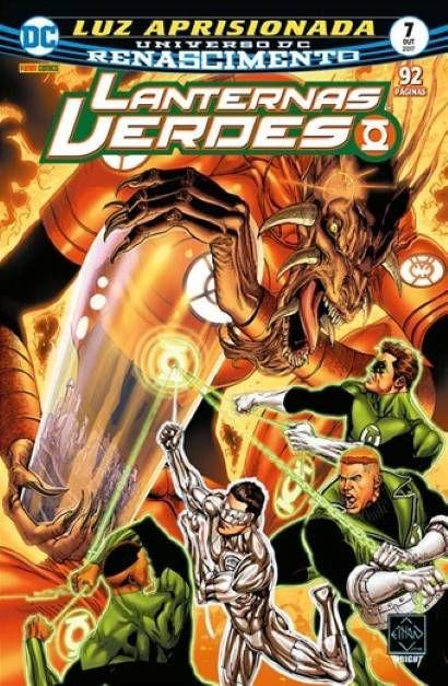 Lanternas Verdes: Renascimento - Edição 7