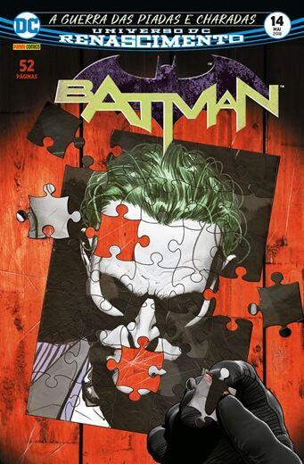Batman Renascimento - Ed 14 - A guerra das piadas e charadas