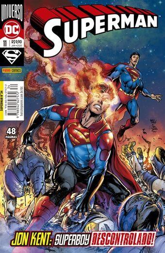 Superman: Renascimento - 11 / 34 - Jon Ken -: Superboy Descontrolado!