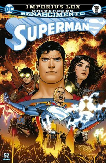 Superman: Renascimento - Edição 18 Imperius Lex