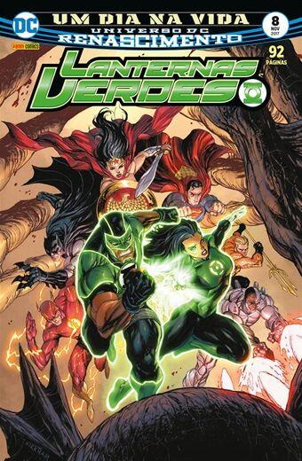 Lanternas Verdes: Renascimento - Edição 8