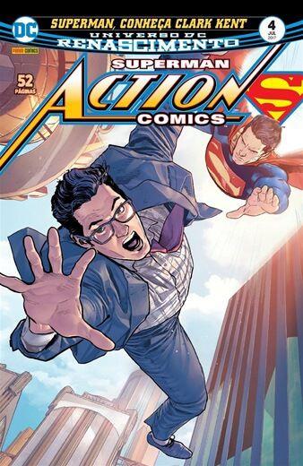 Action Comics: Renascimento - Edição 4 Superman, Conheça Clark Kent