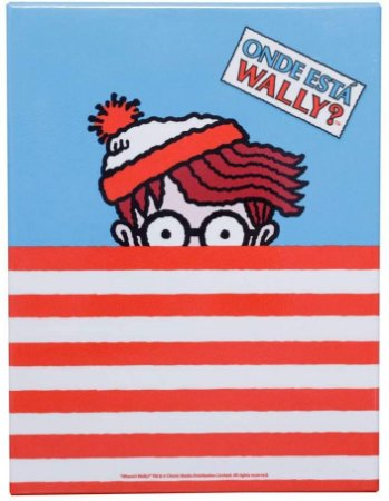 Placa metal Wally Where Is Wally Shirt