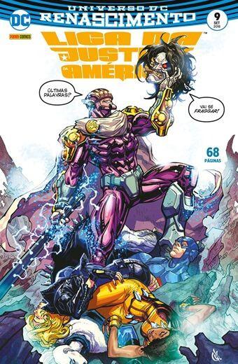 Liga da Justiça da América: Renascimento - Edição 9
