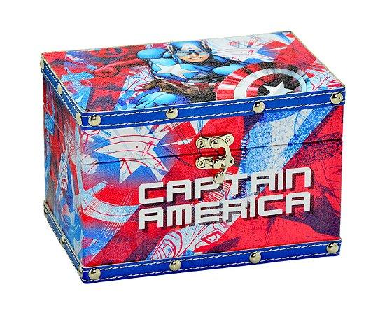 Caixa Organizadora Capitão América