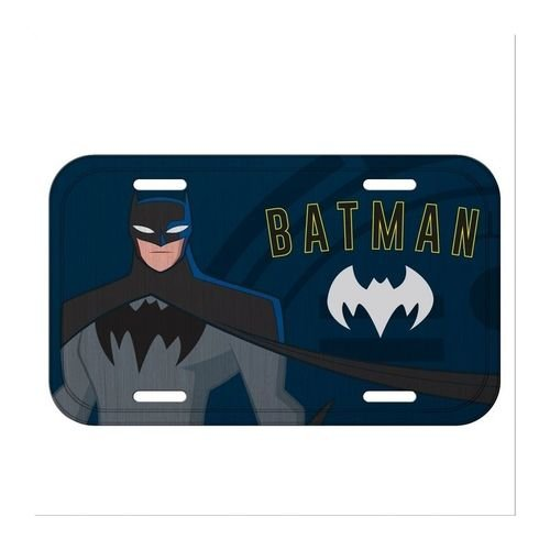 Placa Decorativa em Alumínio Batman