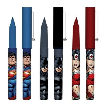Caneta Esferográfica Superman - Azul