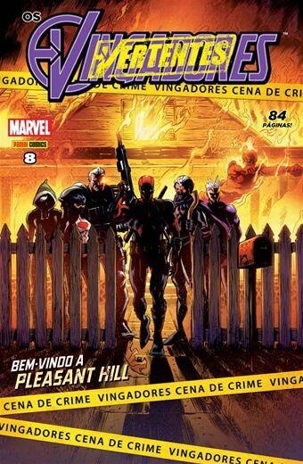 Os Vingadores - Edição 8