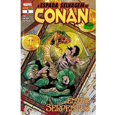 A Espada Selvagem de Conan - Volume 5 - Entre Serpentes