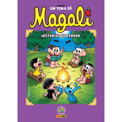 Livro - Coleção Um Tema Só - Magali - Histórias De Terror