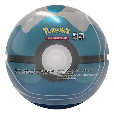 Lata Pokébola Mergulho-  Pokémon