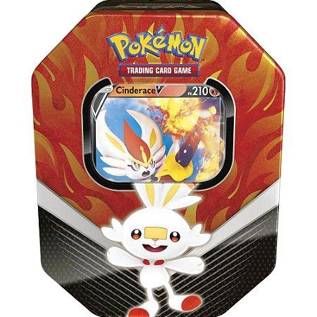 Lata Pokémon Rillaboom V Parceiros da Galar