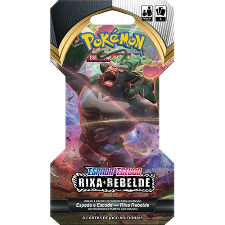 Blister Unitário Pokémon Espada e Escudo 2: Rixa Rebelde