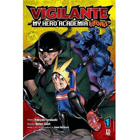 Vigilante My Hero Academia Illegals - Volume 01