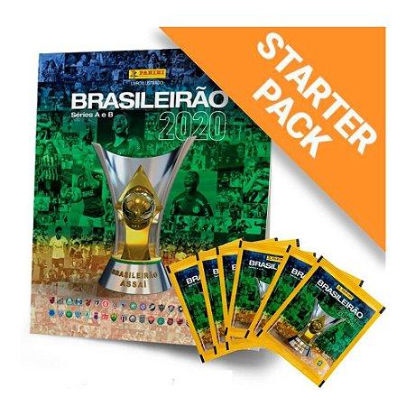 Álbum Brasileirão 2020 + 6 Envelopes