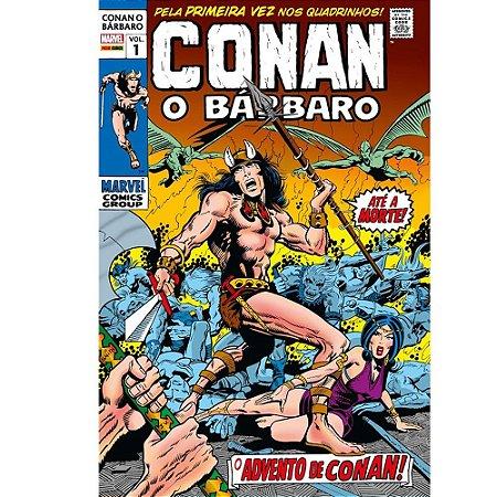Conan o Bárbaro: A Era Marvel - Volume 01