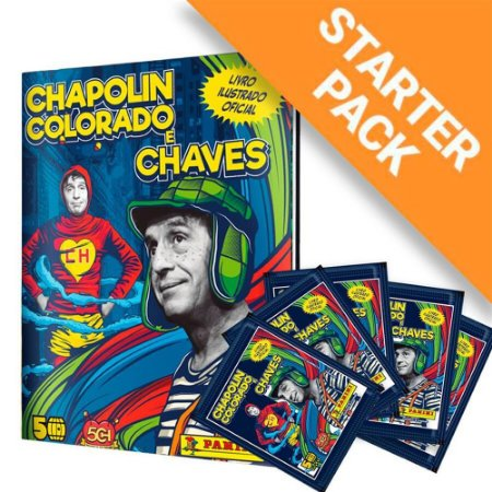 Starter Pack Chapolin Colorado e Chaves