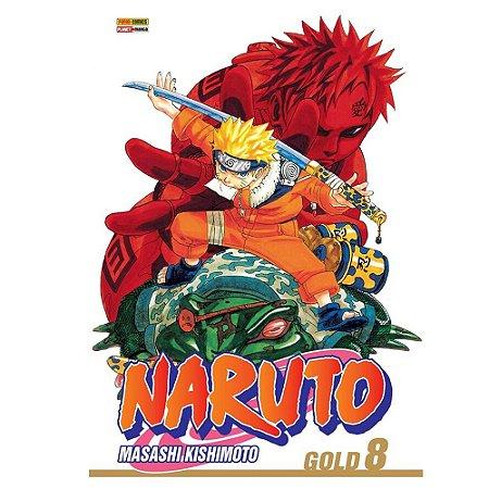 Naruto Gold - Edição 08